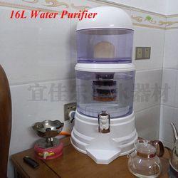 16L agua barriles de filtro mineral olla Filtro de tratamiento de agua alcalina bebida recta cubo dispensador de agua purificador