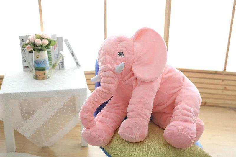 VIP LINK 40 cm/60 cm hauteur grande peluche éléphant poupée jouet enfants dormir dos coussin mignon éléphant en peluche bébé