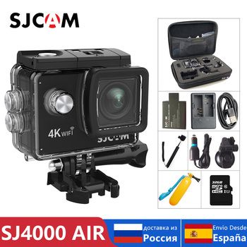 100% Original SJCAM SJ4000 AIR Action Kamera Full HD Allwinner 4K 30FPS WIFI 2,0