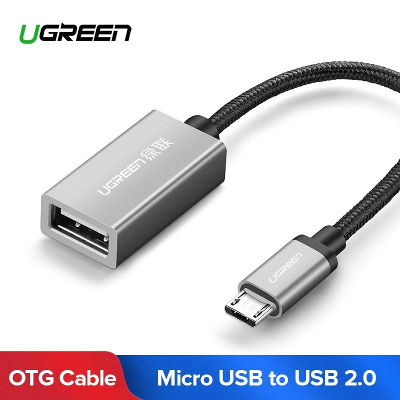 Ugreen OTG Kabel Micro USB OTG Adapter für Samsung Galaxy XIAOMI HUAWEI Micro USB OTG Android Tablet Handy Kabel OTG USB