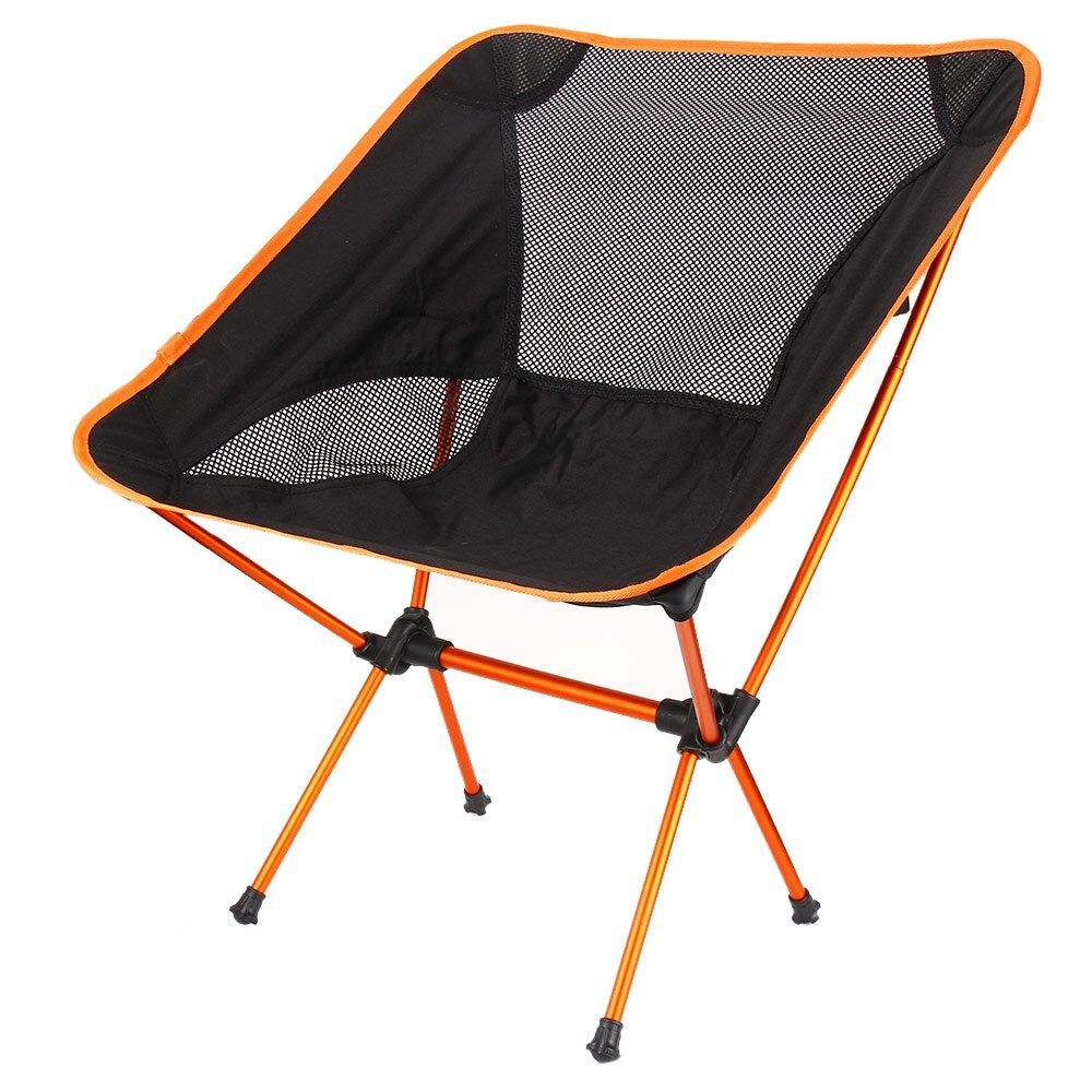 Lightweight Folding Fishing Chair Seat for Outdoor Camping Leisure Picnic Beach Chair Portable Fishing Chair 4 Colors