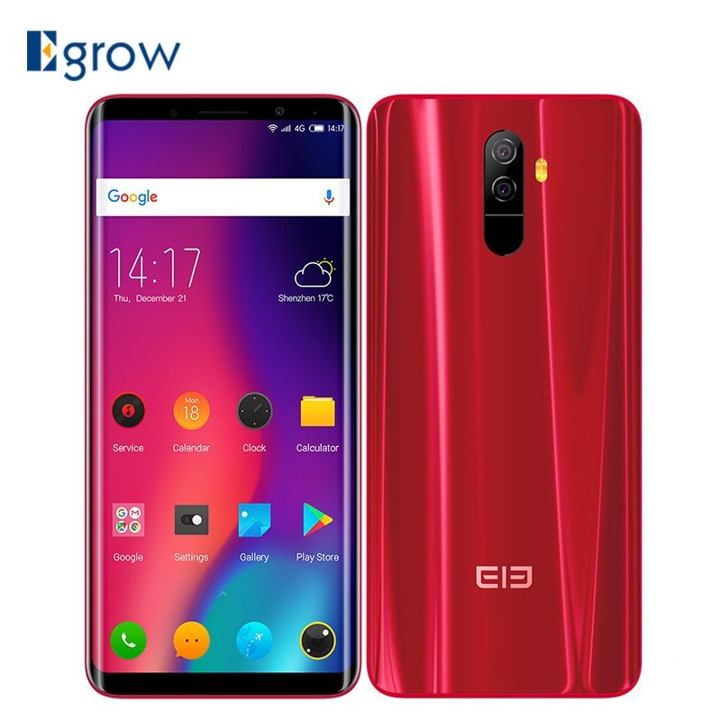 Elephone U Pro Qualcomm Snapdragon 660 Android 8.0 Cell Phones 5.99