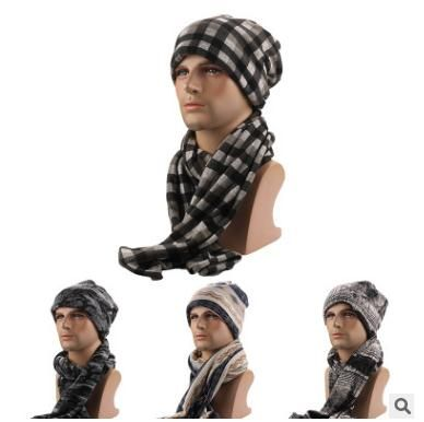 Free shipping,fashion caps,winter warm hats,fleece,thick snow cap Scarf, Hat sets.set of thermal insulation