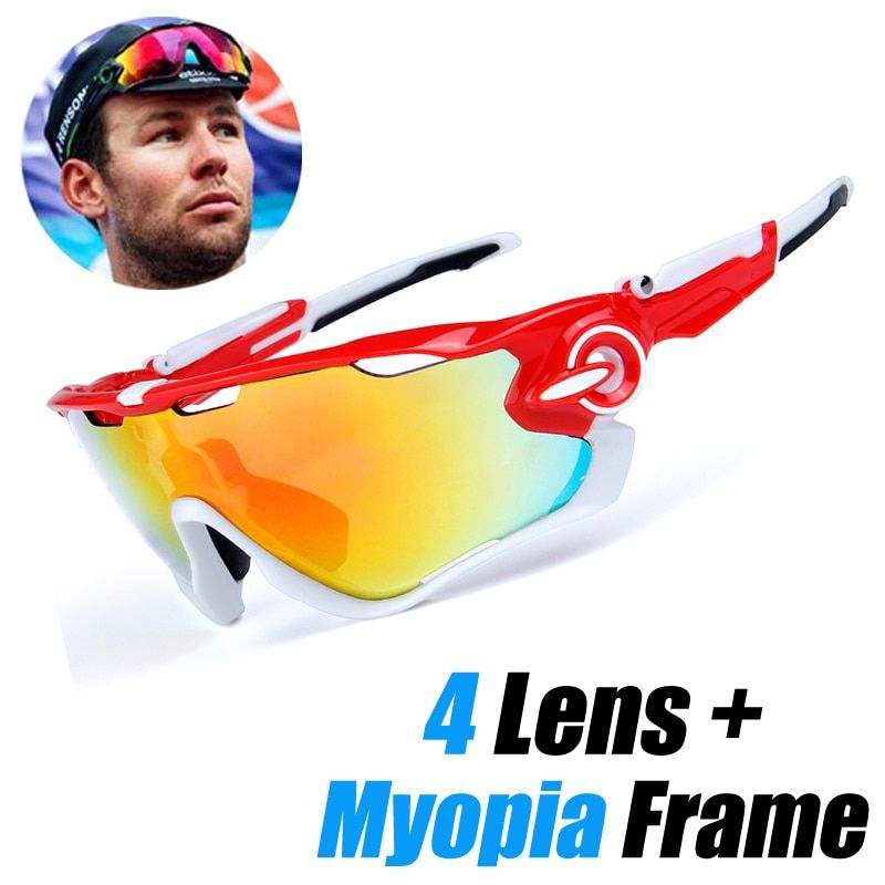 Mountain Velo <font><b>Goggles</b></font> Polarized Sunglasses Men Women MTB Cycling Eyewear Sun Glasses with Myopia Frame