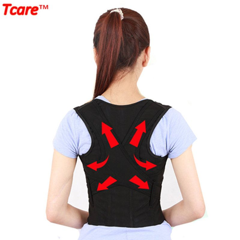 Tcare haute qualité soins de santé universel Correct Posture correcteur ceinture gilet dos orthèse soutien