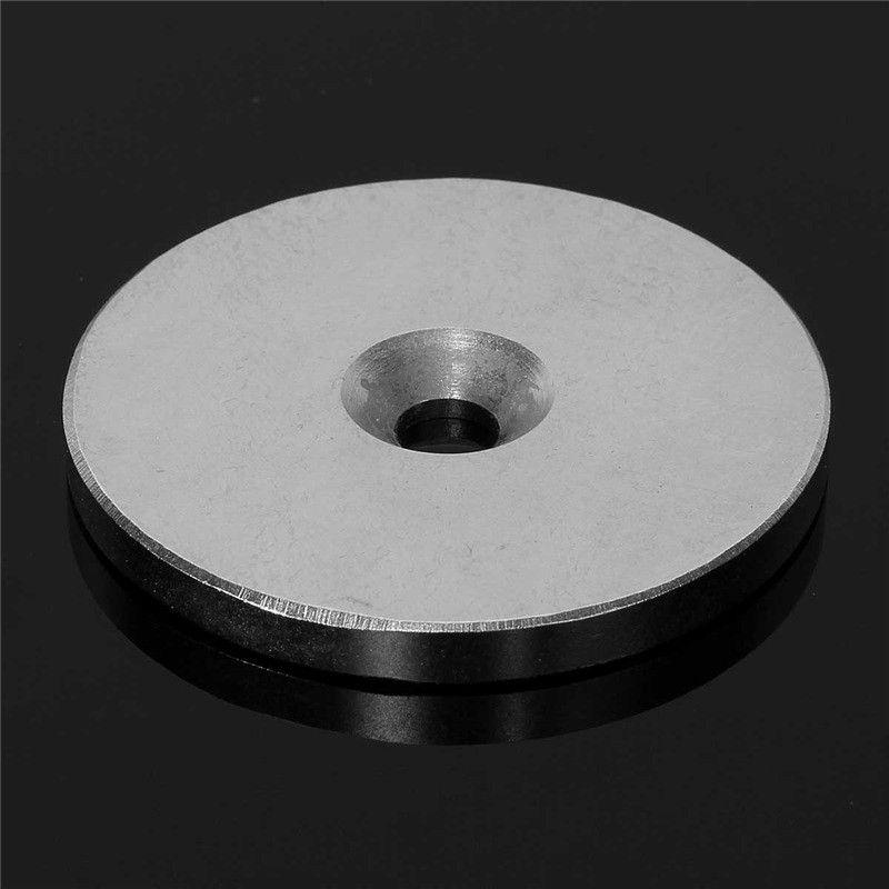 1 Stück N52 50mm x 5mm Loch 6mm Ring Seltenen Erden Starken Magneten Versenkt Neodym Magneten