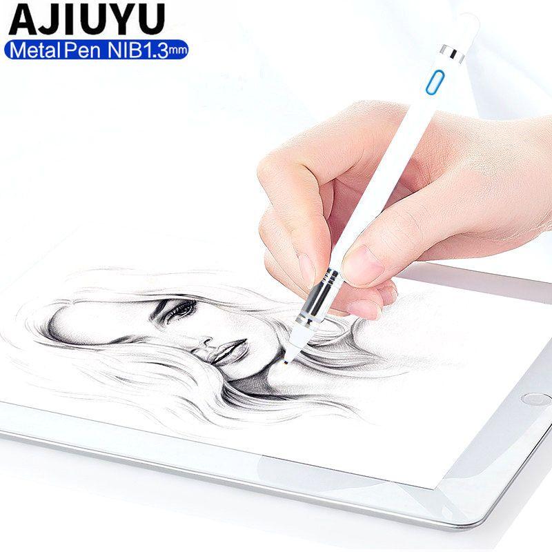 Hohe präzision Aktive Stift Stylus Kapazitiven Touchscreen Für Xiaomi Mi Pad 3 2 1 mipad mipad2 MiPad3 Tablet Fall NIB 1,3mm stift