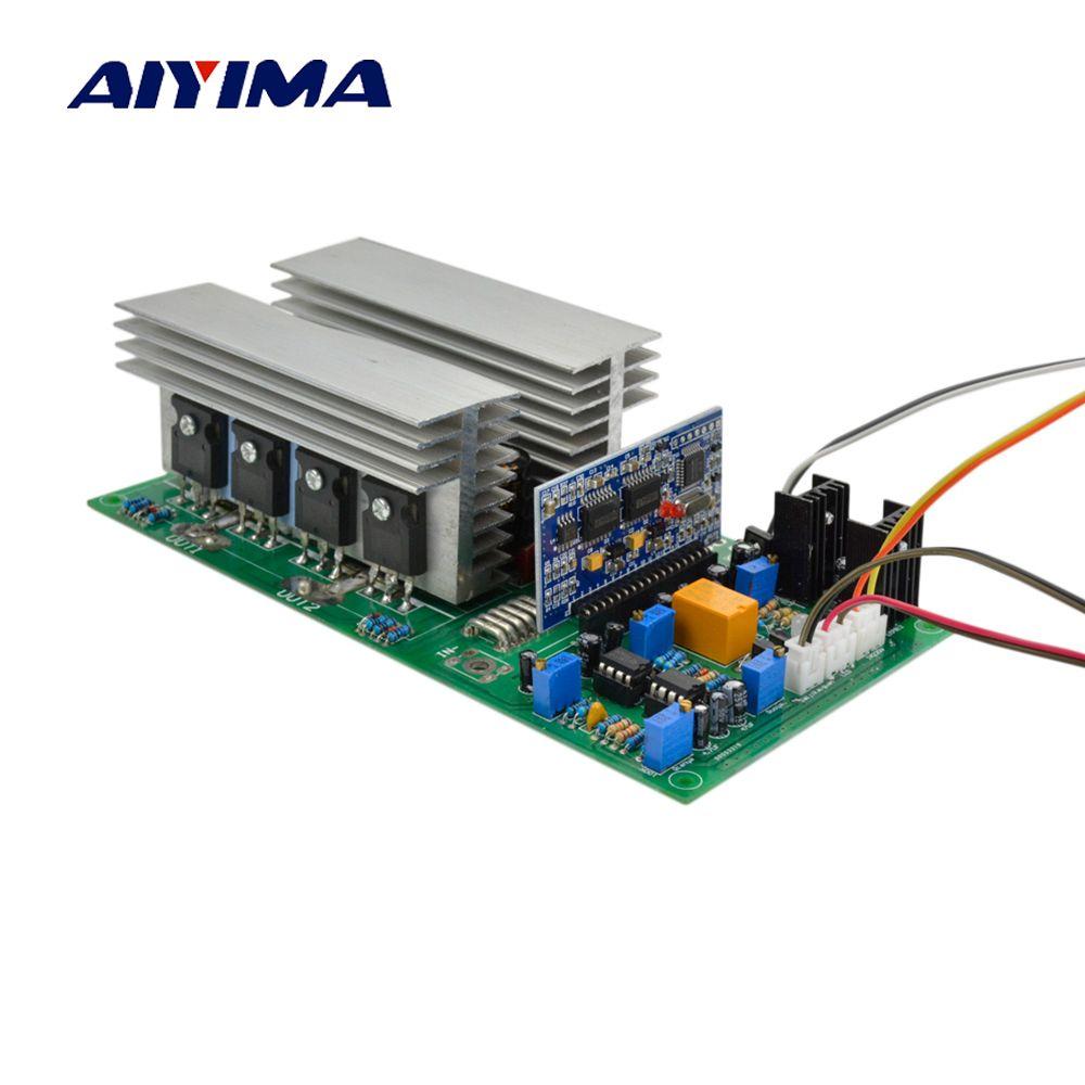Aiyima Reine Sinus Welle High Power Frequenz Inverter Transformator DC 12 v 24 v 36 v 48 v 60 v 1000/2000/2800/3600/4000 watt Fertig Bord