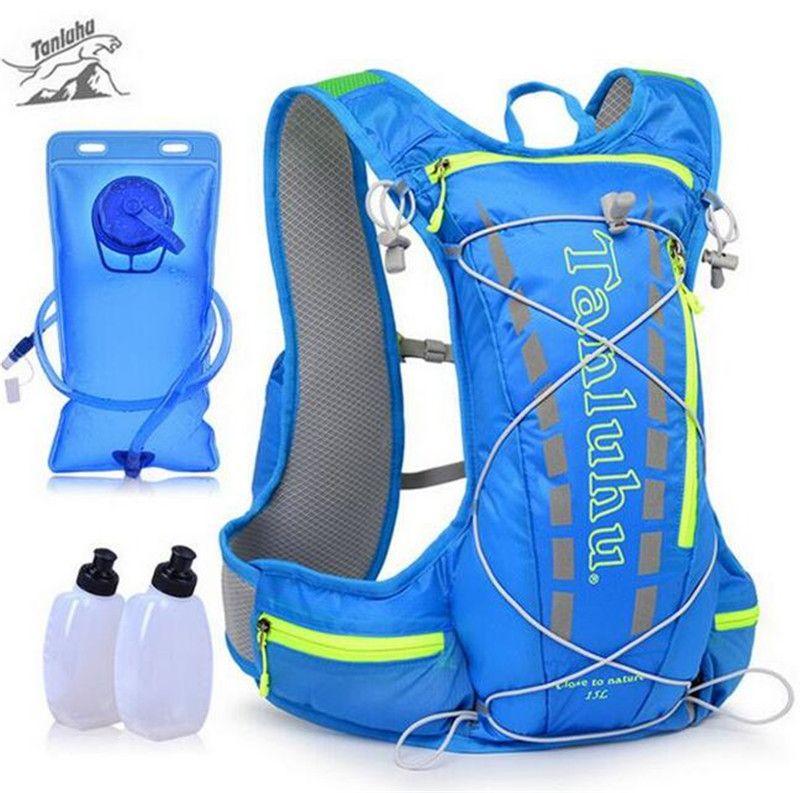 TANLUHU Trail Running Tasche 15L Hydration Rucksack Jogging Sport Weste Hüfttasche Für Klettern Laufen Wandern Radfahren