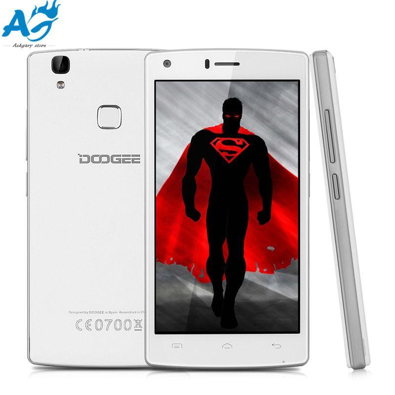Smartphone DOOGEE X5 MAX Pro 5.0 inch 4G Android 6.0 2GB RAM 16GB ROM MTK6737 Quad Core 1.3GHz Sensor Camera Bluetooth 4.0