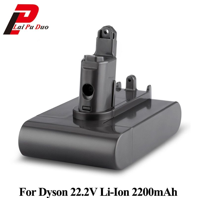 22.2V 2200mAh Li-ion Replacement Battery For Dyson Vacuum Cleaner DC31 DC34 DC35 DC44 MK2 DC45 Type B Series