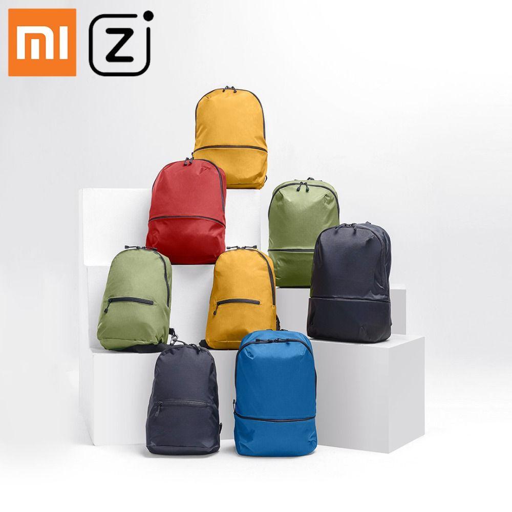 Xiao mi mi sac à dos 11L sac 5 couleurs niveau 4 Nylon imperméable 150g loisirs urbains Sports sacs à dos sacs hommes femmes petite taille