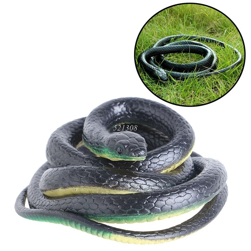 Regalo Tricky Funny spoof Juguetes simulación Soft scary Fake serpiente horror juguete de fiesta may17_35