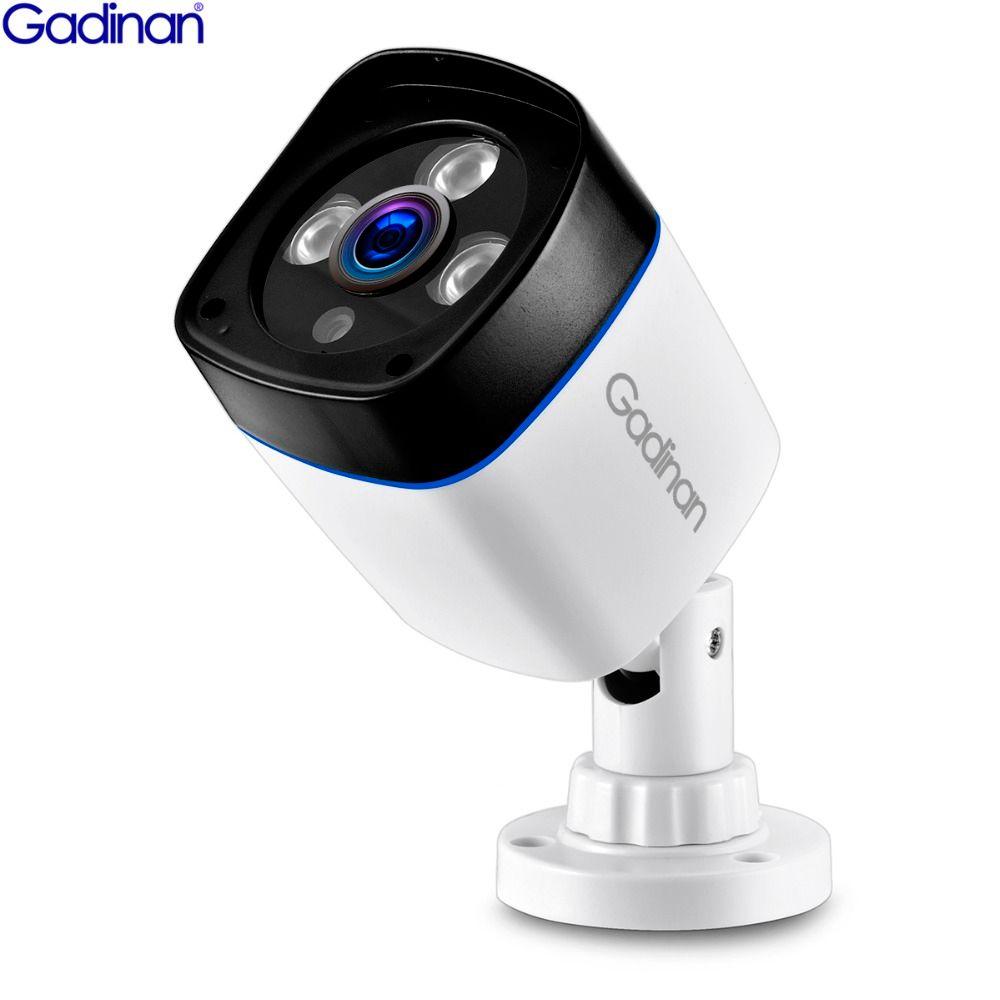GADINAN H.265 3MP 1080P SONY IMX323 2048*1536 H.264 960P 720P IP Camera Surveillance Video Bullet Outdoor IR CCTV ONVIF 48V PoE