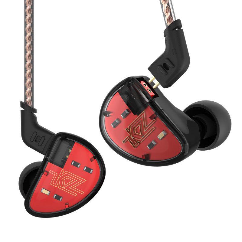 Kz As10 Kopfhörer 5 Ausgewogene Anker Fahrer In Ohr Kopfhörer Hifi Bass Monitor Kopfhörer Earbuds Mit 2pin Kabel Kz Zs10 kz Ba10
