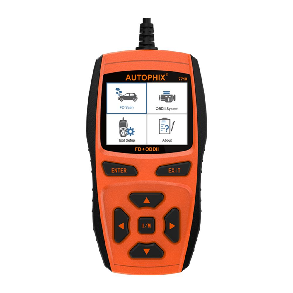 OBD2 Diagnose Werkzeug für Ford Automotive Scanner mit EPB DPF Regeneration Oil Licht Reset SAS ABS BMS TPMS PCM KAM 7710