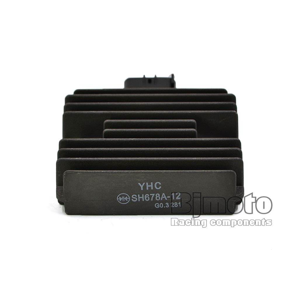 YHC SH678A-12 Motorcycle Metal Voltage Regulator Rectifier For Kawasaki ER6N Ninja 650R Z750S Versys Z1000 ZX1000 Ninja