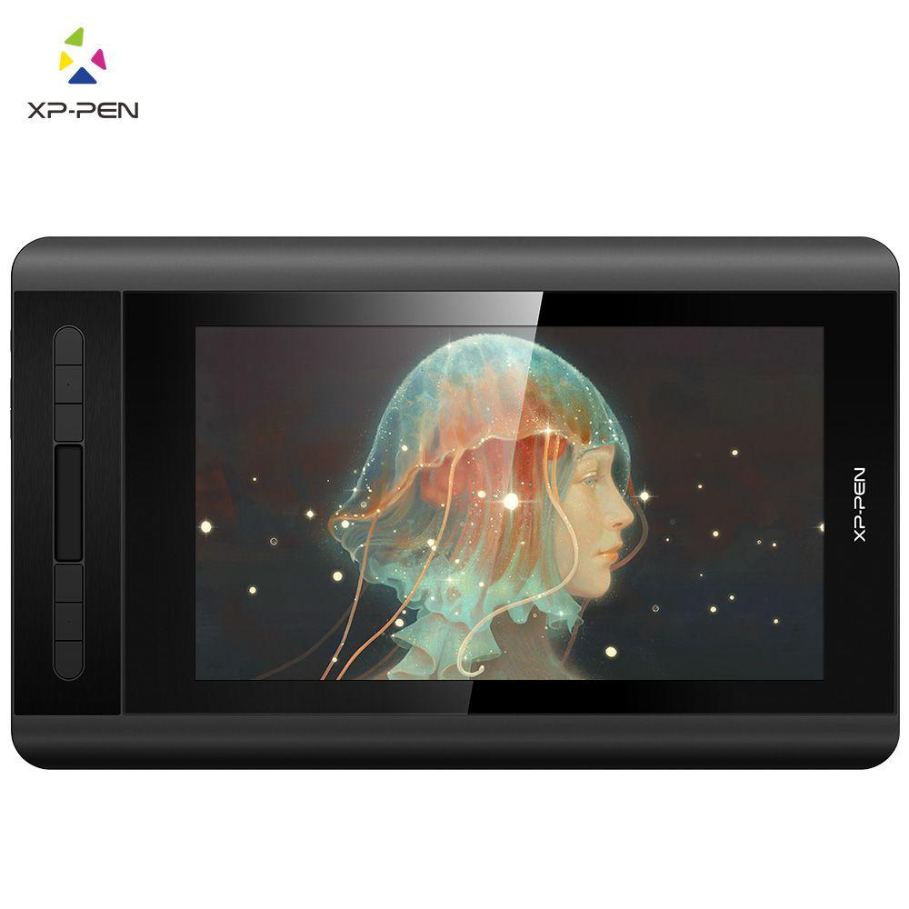 XP-Stift Künstler 12 1920X1080 HD IPS Digitale Grafiken Zeichnung Tablet Pen Display Monitor mit Verknüpfung Tasten und Touch Pad (+ P06)