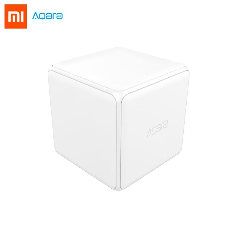2018 Xiaomi Mi Magic <font><b>Cube</b></font> Controller Zigbee Version Controlled by Six Actions For Smart Home Device work with mijia mi home app