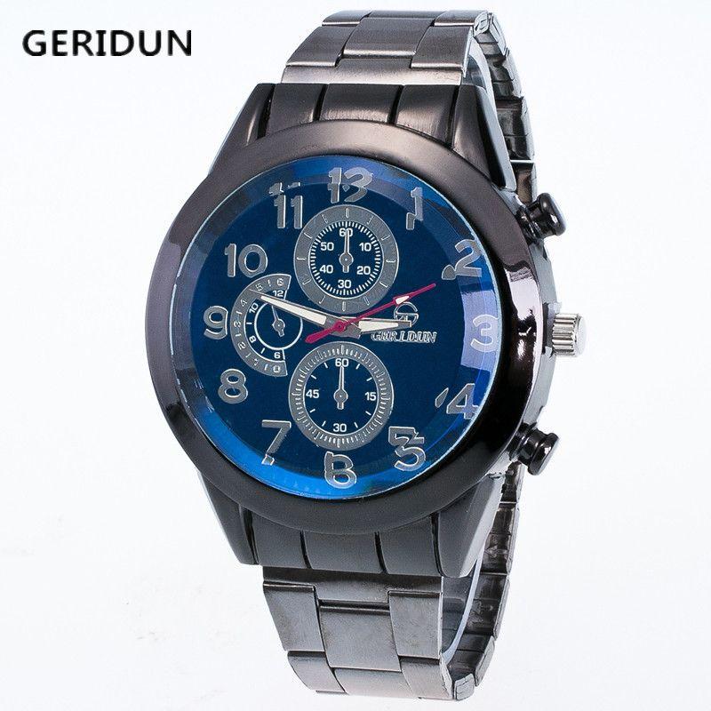 Männer Uhren Militärarmbanduhr Marke Luxus Quarz Edelstahl Uhr Mode Herrenuhr Funktion Männer Business Relogio Masculino