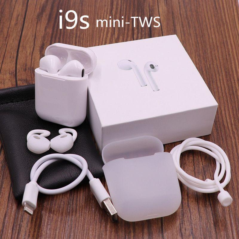 Nouveau i9s air gousses TWS Sans Fil mini Bluetooth Écouteurs Sans Fil Casques casque écouteur oreille gousses Pour apple Andorid Iphone