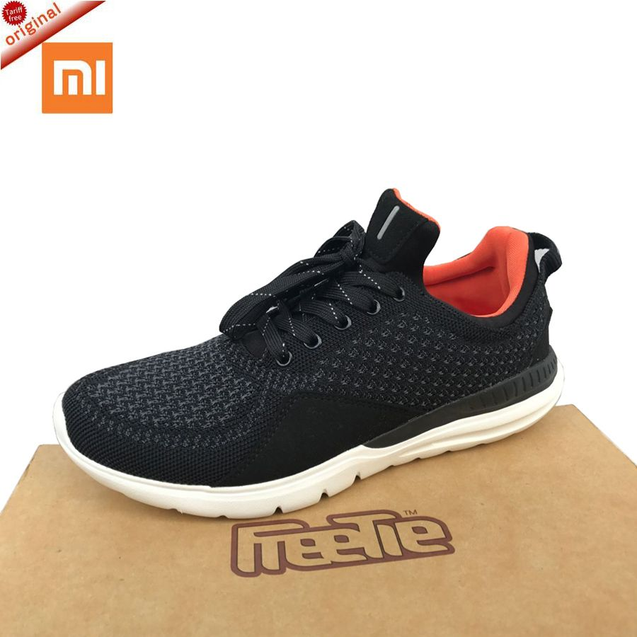 2017 Original xiaomi shoes Freetie Bluetooth 4.0 English APP Comfortable Upper And Durable Sole Running xiaomi smart sneakers