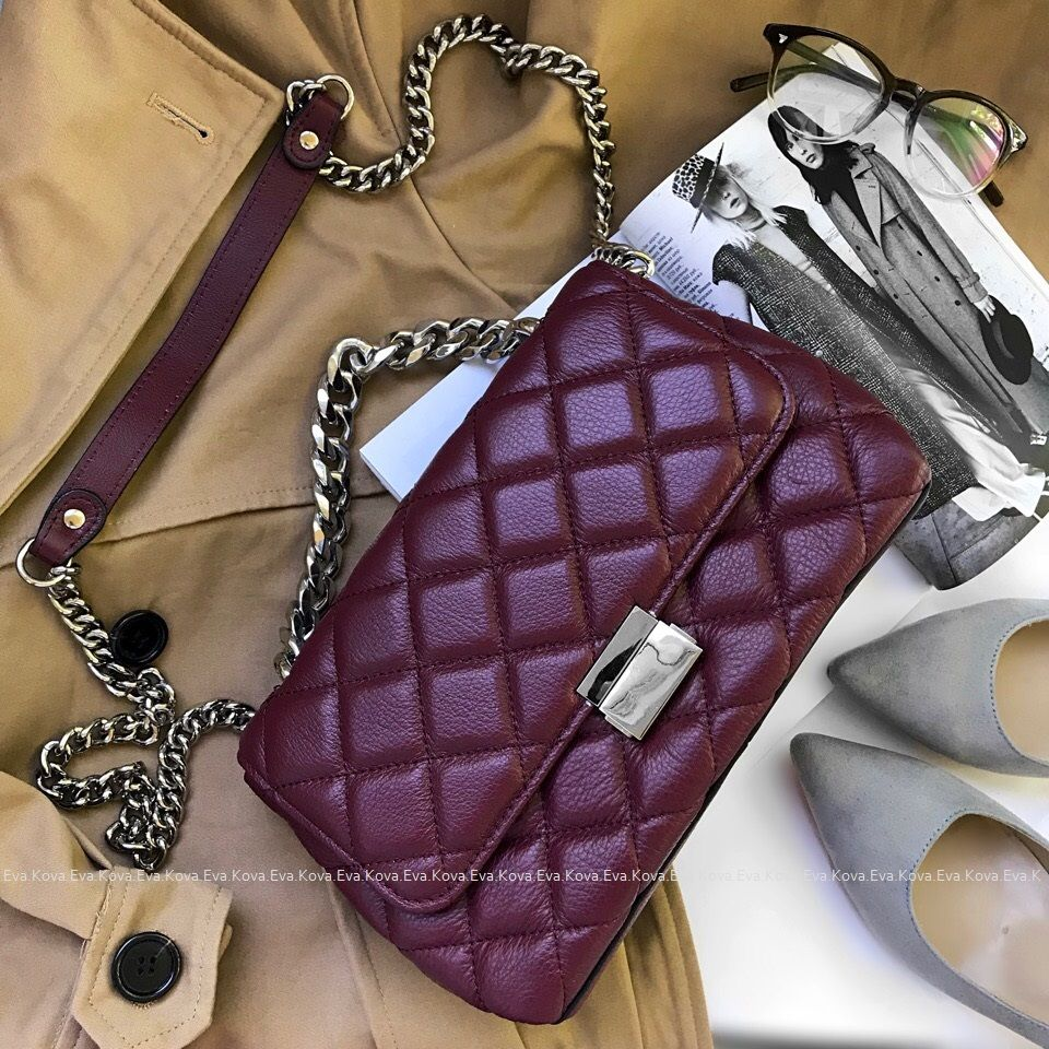 Hot Totes Genuine Leather Shoulder Bags For Women 2018 Classic Designer Handbags High Quality Sliver Chains Crossbody Bags New