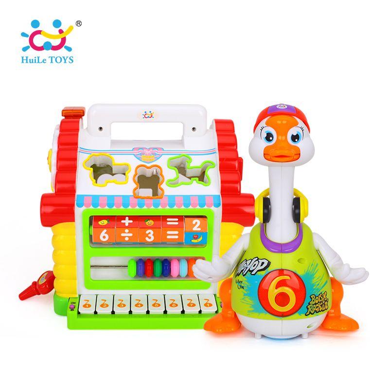 Kinder Spaß Baum Haus Aktivität Cube Spielzeug Lernen Cottage & Huile Spielzeug 828 Super Nette Intelligente Hip hop Dance Lesen sagen Geschichte Spielzeug