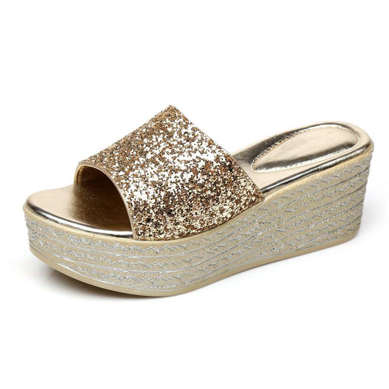 2018 NEW summer Women slippers Fashion Comfortable non-slip women's flats shoes