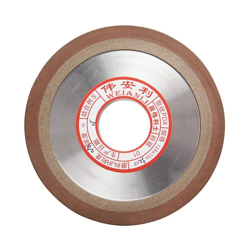 Diamond Wheel Grinding Disc Grain Fineness Cutting Electroplated Saw Blade125*10*32*8mm Rotary Tool 1pc