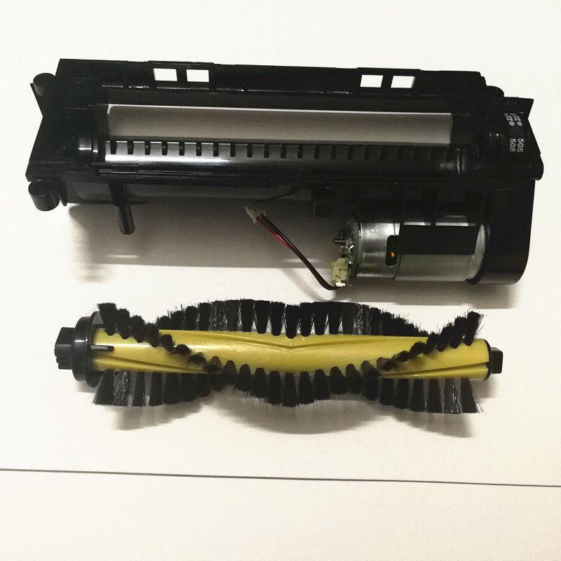 Moteur de brosse intermédiaire principal d'origine + brosse principale pour ILIFE A4 A4S pièces d'aspirateur Robot remplacement de brosse à rouleaux