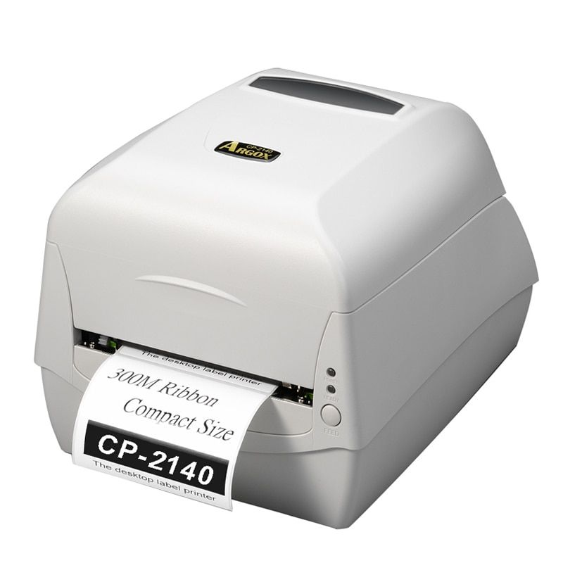Argox CP-2140M white Barcode transfer printer sticker printer machine 104mm label printing,jewelry label, price tag on T-shirt