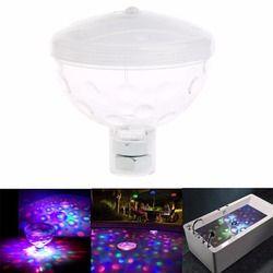 4 LED Mewah Floating Underwater Lampu Disco Cahaya Acara Kolam Renang Lampu Taman Pesta Panas SPA Lampu Lampu