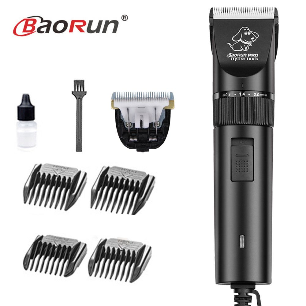 Professional High Power 20W Electric Pet Hair Clipper Cat Dog Rabbit Hair trimmer Grooming Machine Dog Hair Shaver 110-240V AC