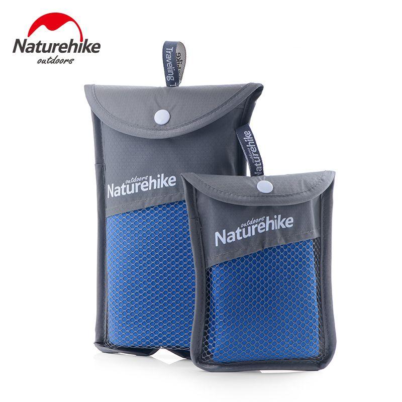 Naturehike Microfibre Piscine Serviette 3 Couleurs 80x40 cm 130x73 cm Ultra-Léger En Plein Air Absorbant à Séchage Rapide de L'eau serviette de bain