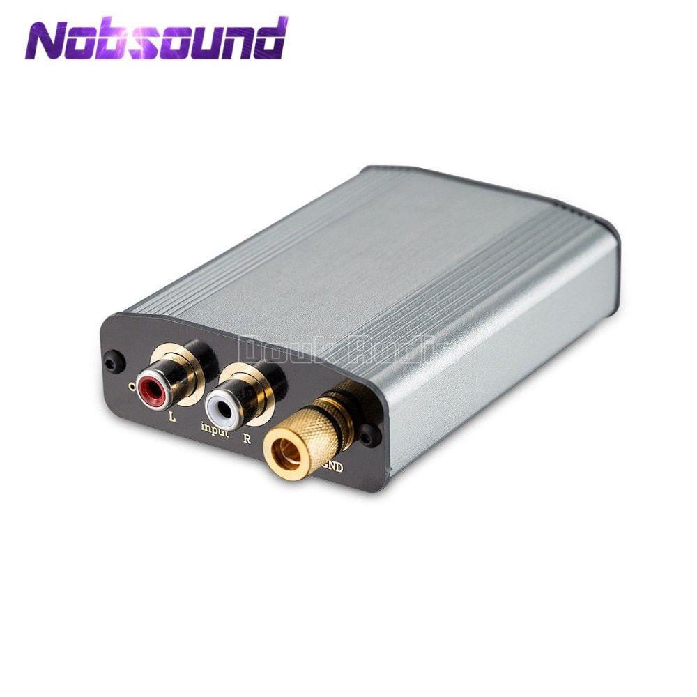 Nobsound HiFi Class A Phono Turntable Pre-amplifier MM RIAA Mini Stereo Preamp Compact Phono amplifier Vinyl Phono