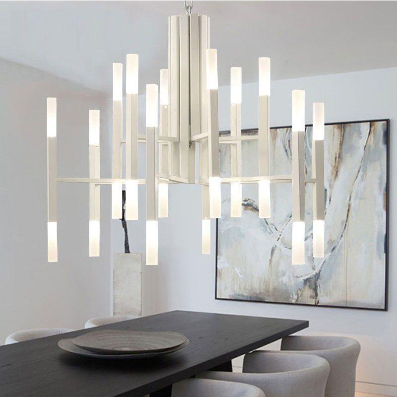 Diseño de la personalidad Moderna iluminación de la lámpara Para El Salón Dorado/negro Decoración iluminación de la lámpara de la vendimia