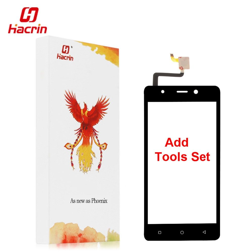 hacrin Blackview A8 touch screen + Tools Set Gift 100% New Digitizer glass panel Assembly Replacement for cell phone