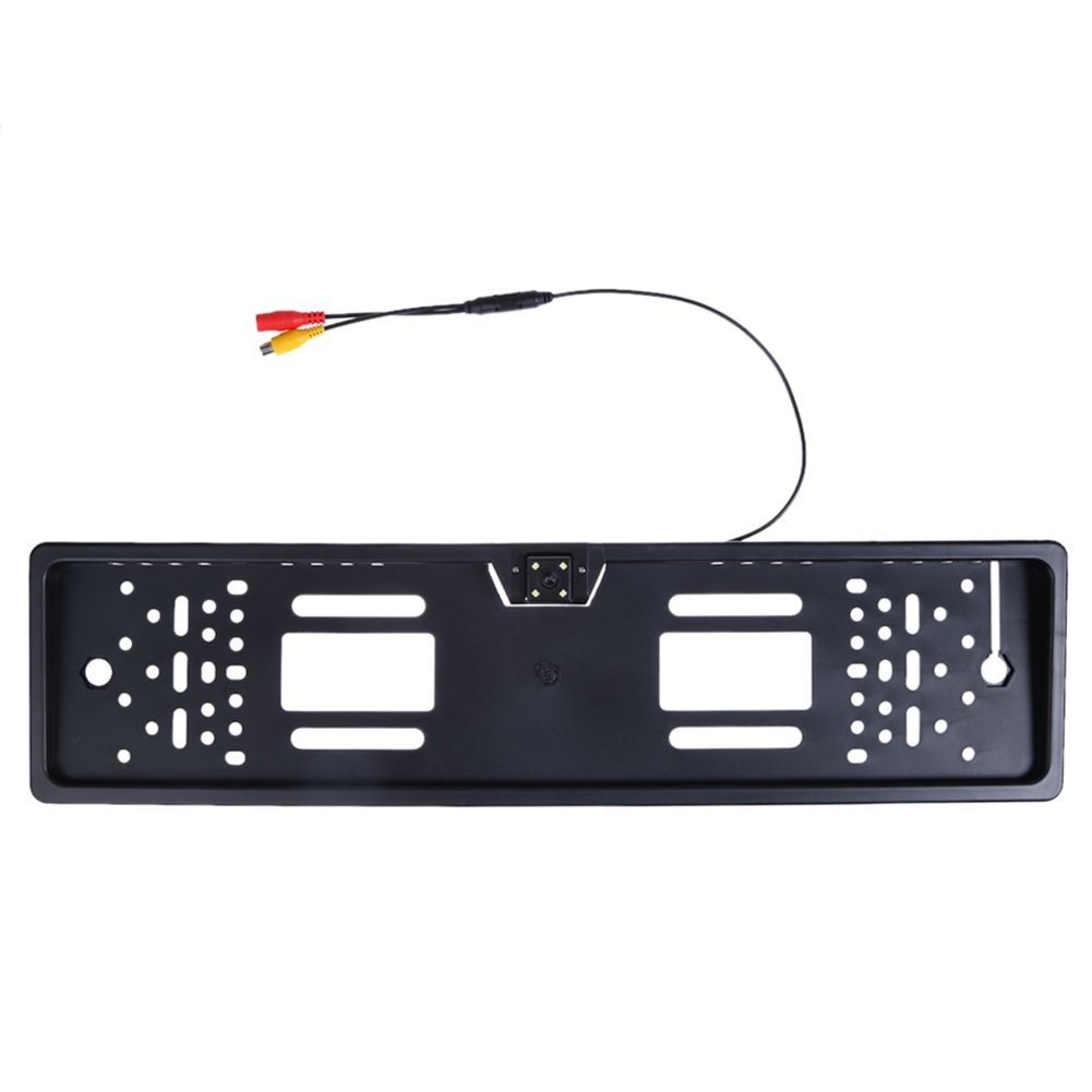 Anti-jamming Voiture European License Plate Frame W/ 140 Degree Car Rear <font><b>View</b></font> Camera Auto Parking Assistance car styling