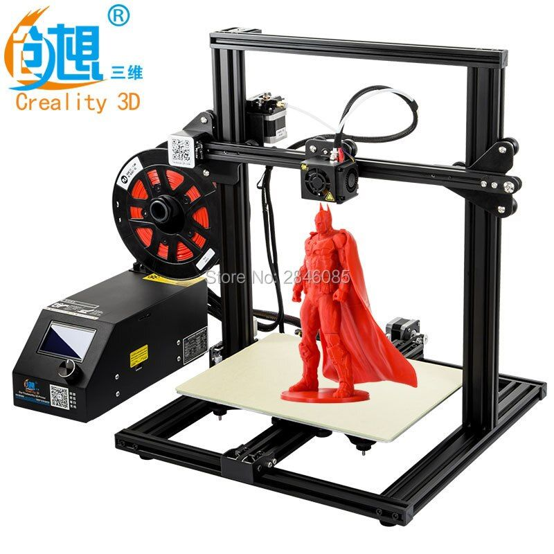 CREALITY 3D CR-10 Mini Semi Assembled Aluminum 3D Printer Kit Printing Size 300*220*300mm Resume Printing Power Off Function