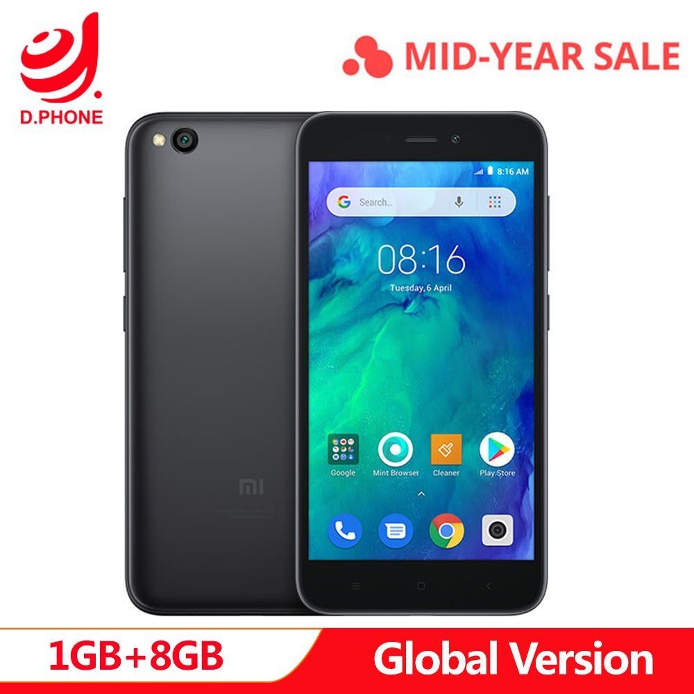 In Stock Global Version Xiaomi Redmi GO 1GB RAM 8GB ROM Snapdragon 425 Quad Core 5.0