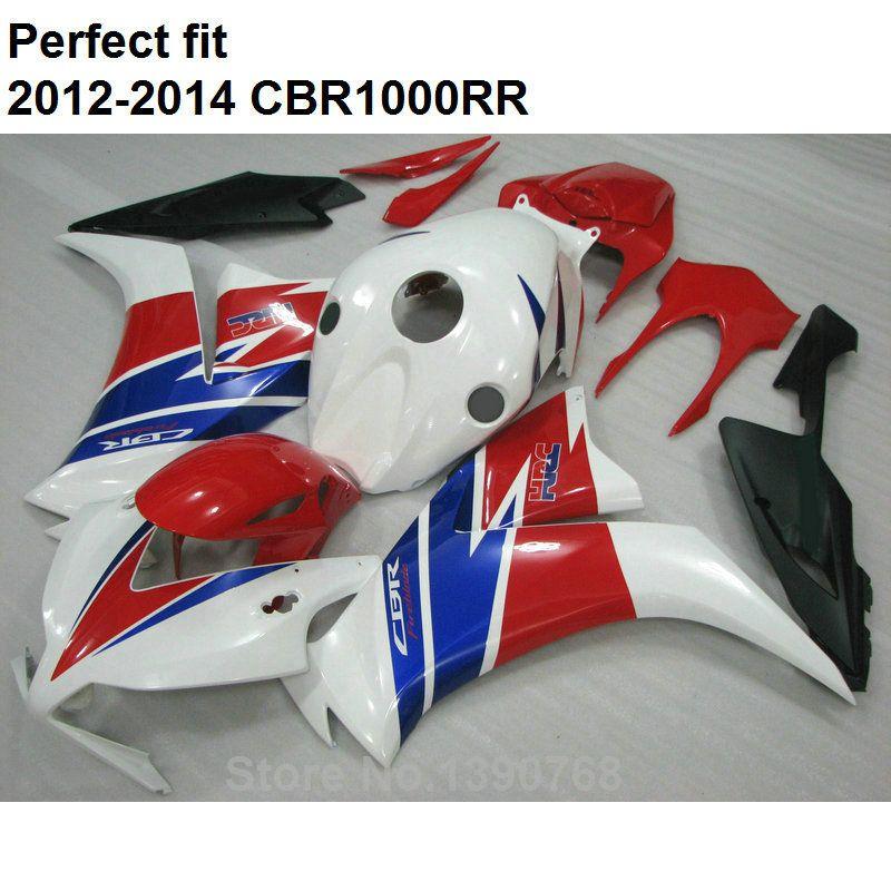 Motorcycle brand new bodywork fairing kit for Honda CBR1000RR 12 13 14 white red black fairings set CBR 1000 RR 2012-2014 CN16