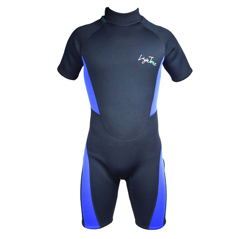 Sports Free Diving Wetsuit 3mm Neoprene Short Pants Sleeves Plus-size Swimwear Swimming Suit Surfing Suits Snorkeling Wetsuits