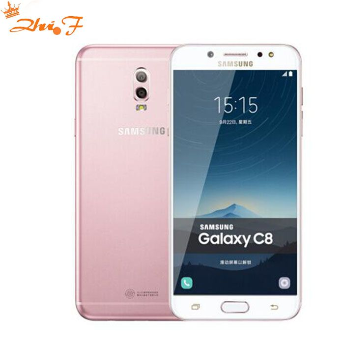 Samsung Galaxy C8 (SM-C7100) Super AMOLED FHD 3G/32gb 16MP Front Camera dual sim Octa Core Lte 4G Mobile Phone