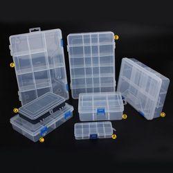 Urijk ювелирные изделия пластиковые коробки для инструментов дома коробки для инструментов контейнер для хранения электроники коробка Комби...