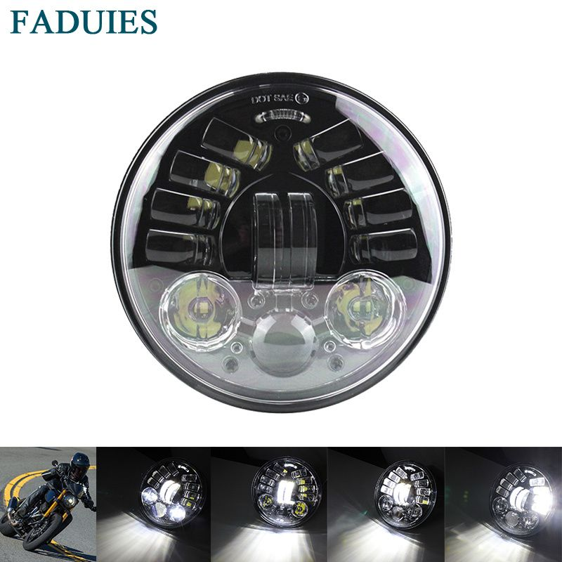 FADUIES 5.75 inch Motorcycle headlight Led Headlights 5.75