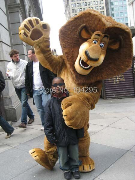 Ohlees big head Lion mascot costumes customize party birthday cosplay gift toys animal mascot