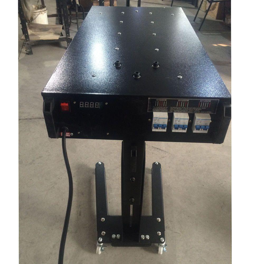 3000 watt Siebdruck Tempereture Control Flash-Trockner Beweglichen Aushärtung Tinte Maschine