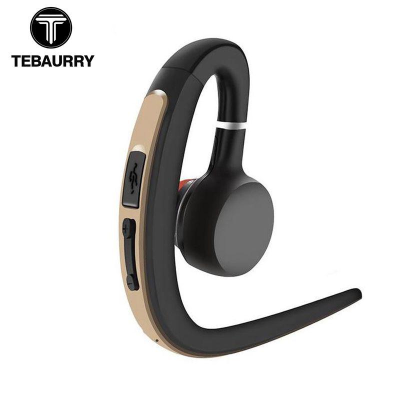 TEBAURRY Bluetooth Écouteurs Sport Bluetooth Casque Sans Fil Musique Écouteurs Mains Libres avec Microphone Casque pour téléphone iphone
