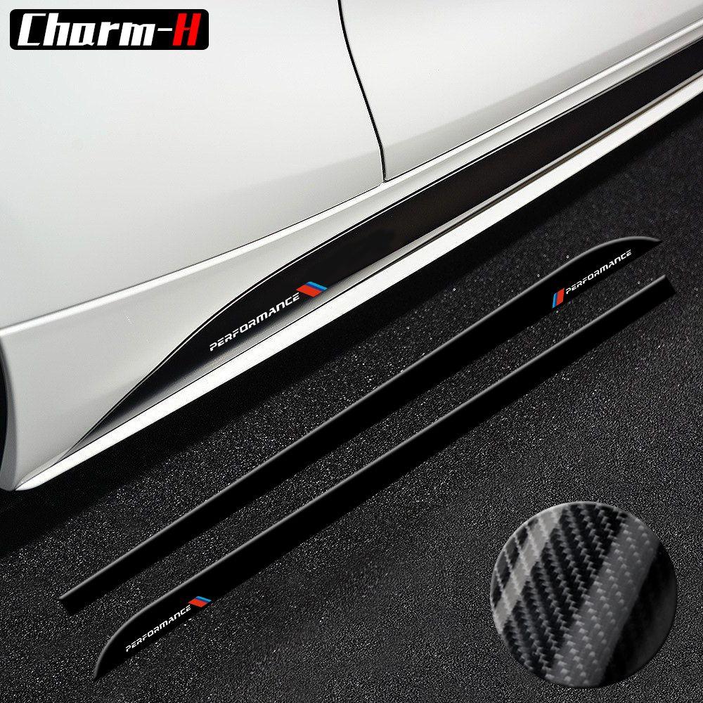 For BMW E90 E92 F20 F21 F30 F31 F32 F33 F34 F15 F16 F10 F01 F11 F02 G30 M Performance Side Skirt Sill Stripe Body Decals Sticker